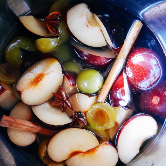 Spiced Plum Compote