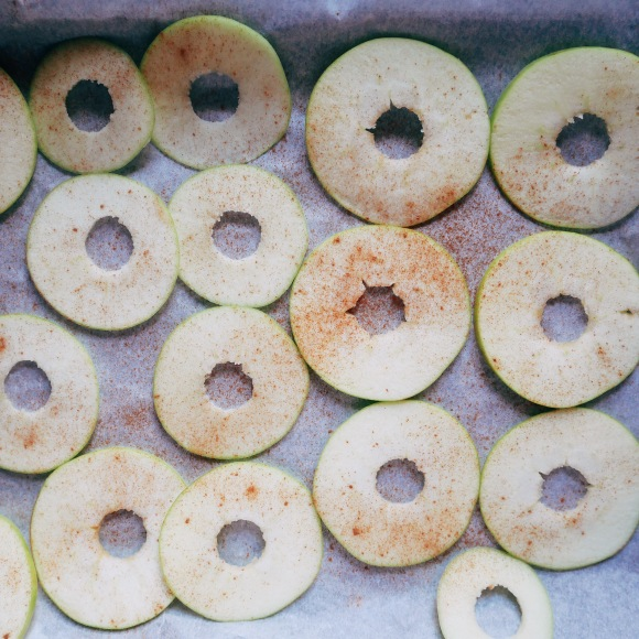 Cinnamon Spiced AppleCrisps